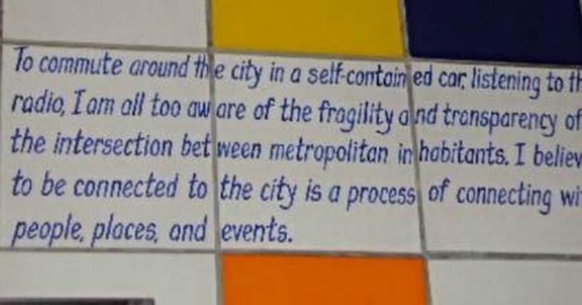 Discover Word-Centric Art Via LA's Metro Green Line