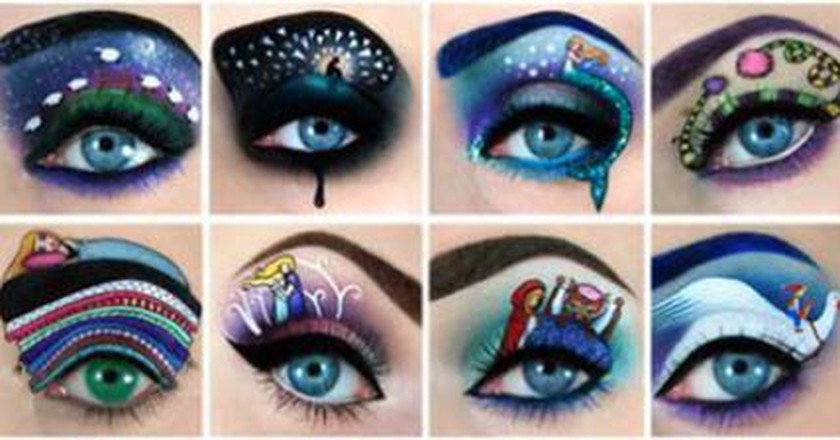 Art Around Your Eye by Tal Peleg