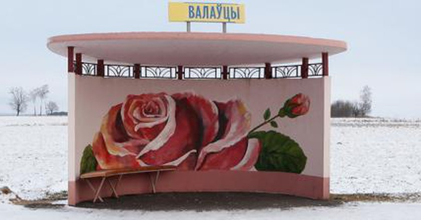 The Beautiful Bus Stops Of Belarus: A Photography Project