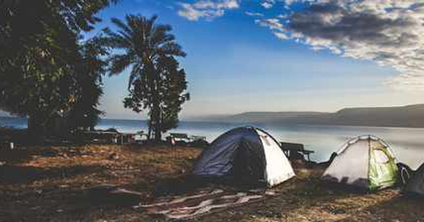 The Best Campsites To Visit In Israel
