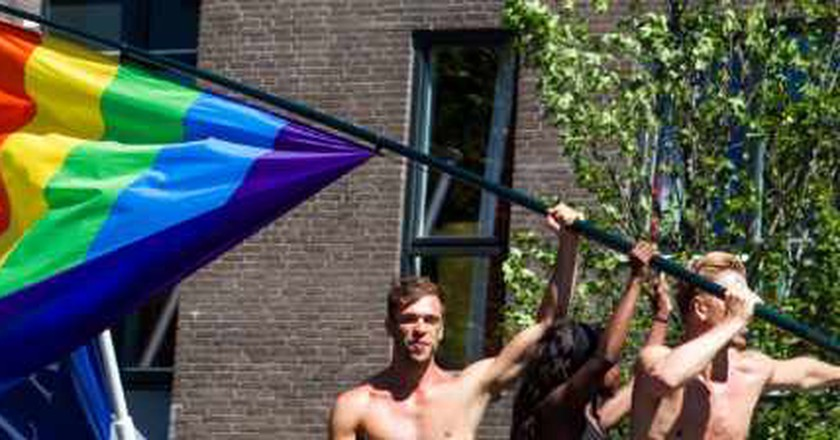 Amsterdam gay golden shower party stories