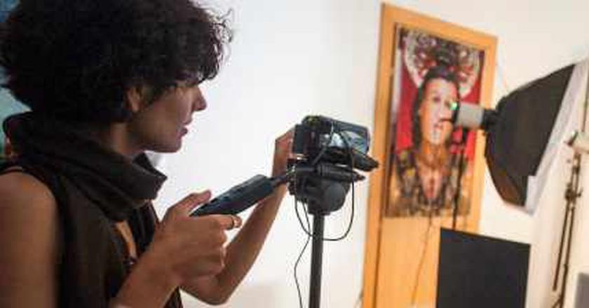 A Brooklyn-Based Artist To Watch: Iranian Creator Zeinab Shahidi Marnani