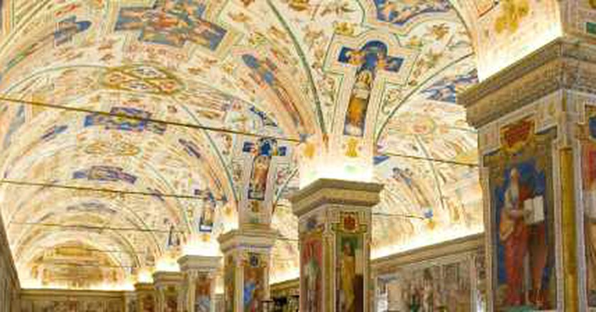 The Most Beautiful Libraries in Rome