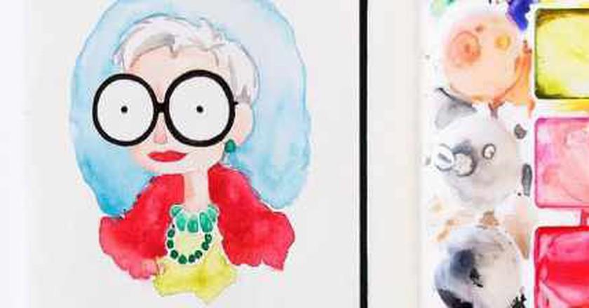 Iris Apfel: The Big Apple's Stylish Spirit