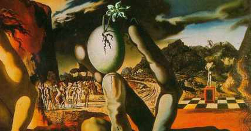 Dali's Metamorphosis of Narcissus: A Classic Greek Myth Told in Surreal Art