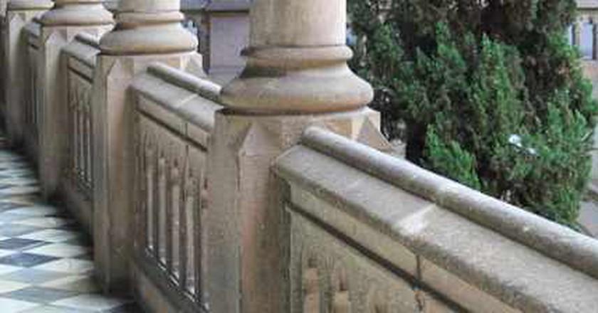 University Of Barcelona's Historic Building In Spanish Literature