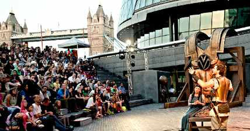 Women of Troy: The Open Air Theatre's Free Grand Spectacle