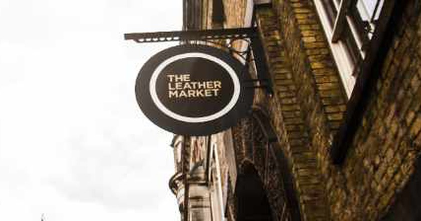 A Brief History Of The Leather Exchange In Bermondsey, London