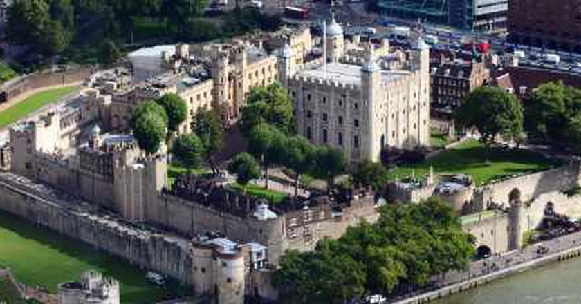 The Six Ravens At The Tower Of London