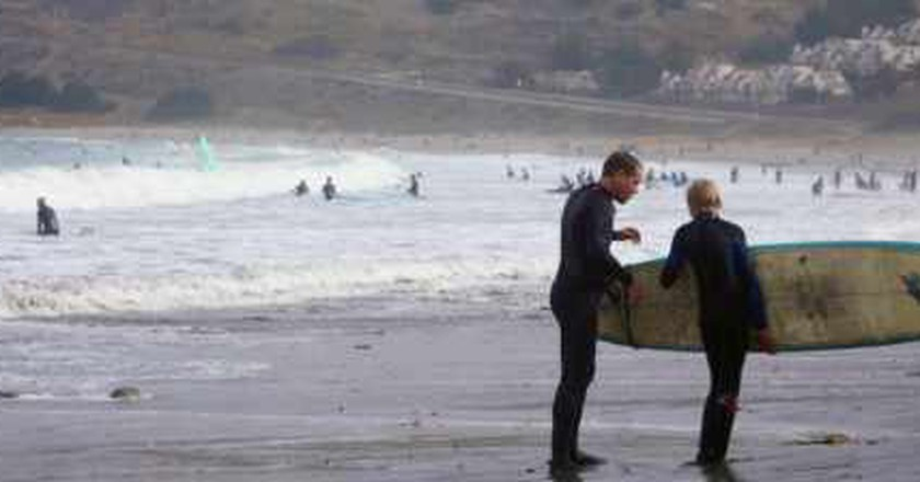 Why Early Fall Is The Time To Learn At Pacifica State Beach Surfing