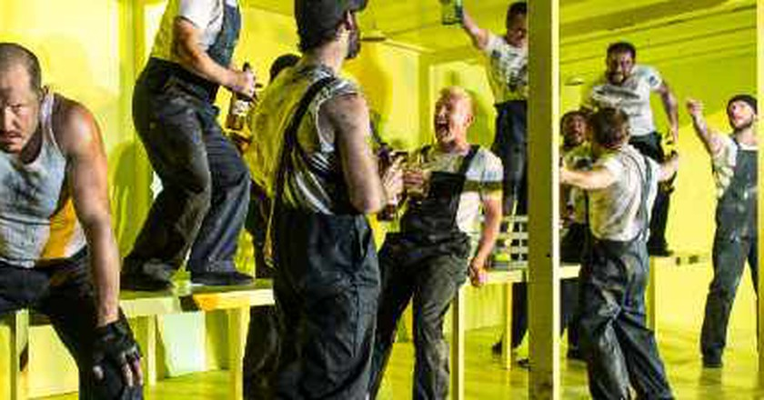 Bold New Staging Of The Hairy Ape At London's Old Vic