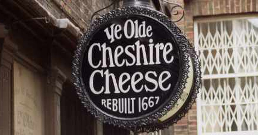 A Look At A London Legend And A Fleet Street Landmark, Ye Olde Cheshire Cheese
