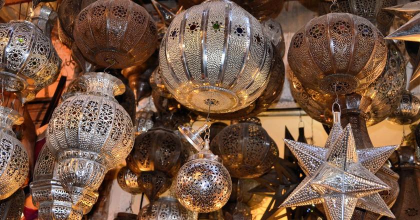 Moroccan lanterns | © Christine Olson/Flickr