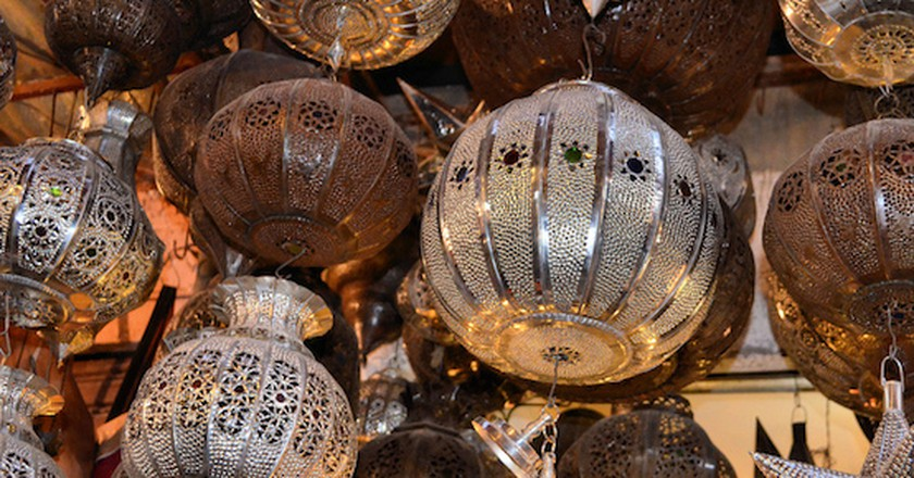 Moroccan lanterns   © Christine Olson/Flickr
