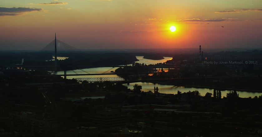 Belgrade Sundown | © Jovan Markovic/Flikr
