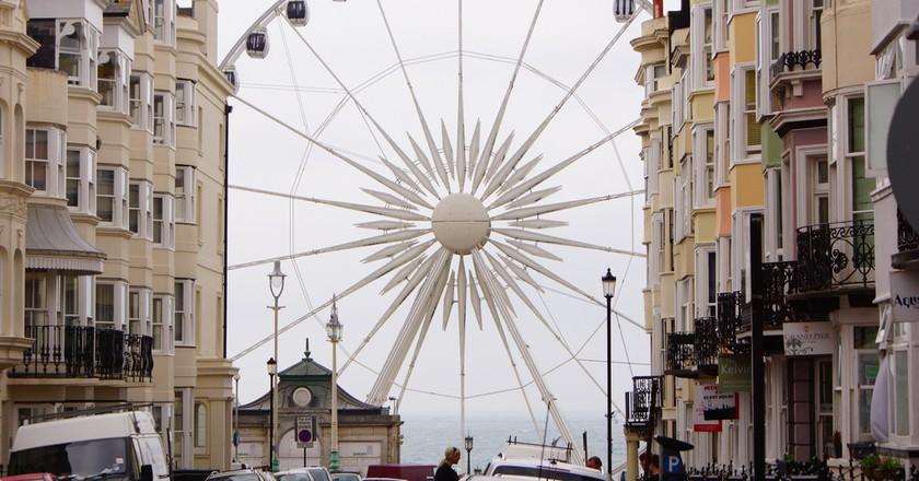 Kemp Town, Brighton, England | © Stéphane Goldestein / Flickr