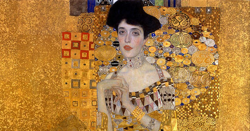 Gustav Klimt, Portrait of Adele Bloch-Bauer 1, 1907 | © Gustav Klimt/WikiCommons
