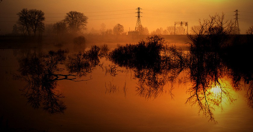 Spring floods in Daugavpils I © Nikita Gavrilovs/Flickr