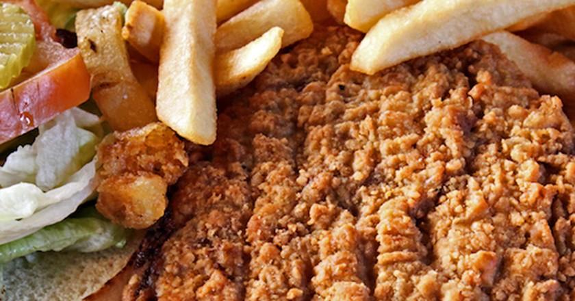 Chicken-Fried Steak | © D. Laird/Flickr