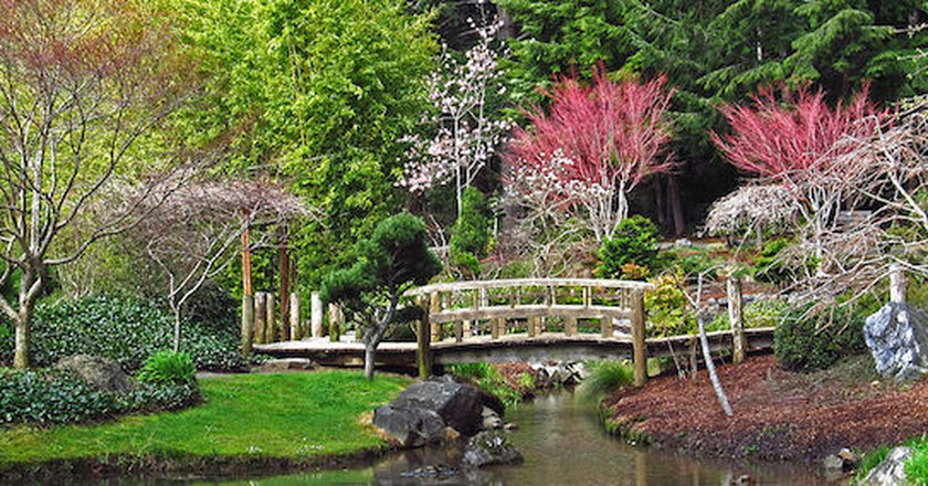 Choshi Japanese Gardens in Coos Bay, OR | © Themom51/WikiCommons