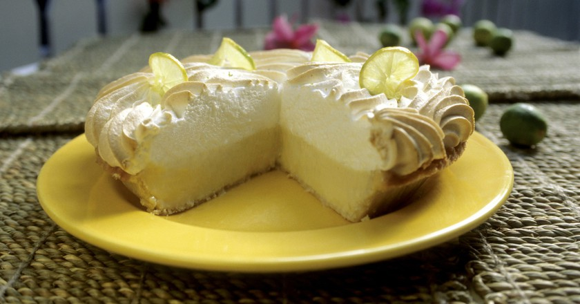 Key lime pie at Blond Giraffe | Courtesy Blond Giraffe Key Lime Pie Factory