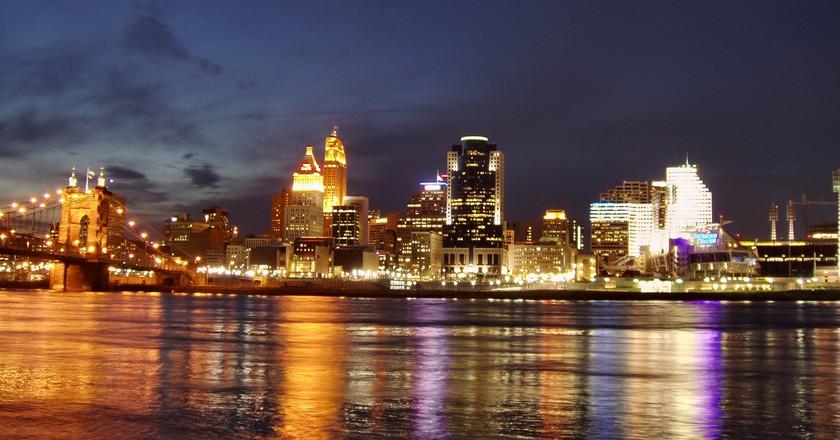 Cincinnati skyline   © Derek Jensen/WiKiCommons