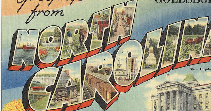 Greetings from Goldsboro, North Carolina | © The Tichnor Brothers Collection/WikiCommons