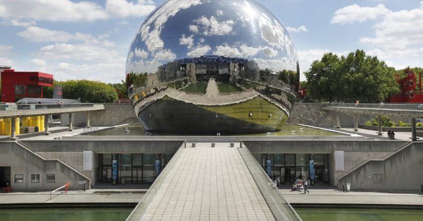 Urban Splendors Of Parc De La Villette In Paris
