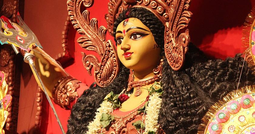Durga Idol | © AKS.9955/Flickr