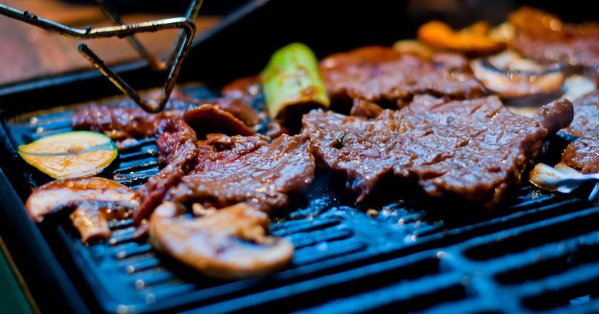 Korean BBQ | © Thomas sauzedde / Flickr