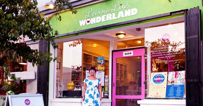 Leanna Lin of Leanna Lin's Wonderland.  Courtesy of Leanna Lin.