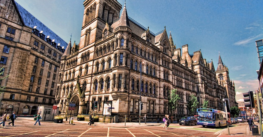 Manchester Town Hall | © Stephen/Flickr