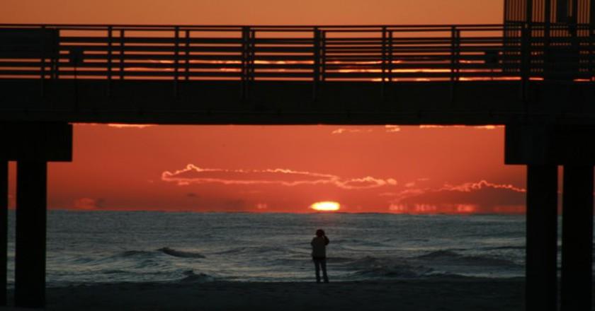Orange Beach sunset | © gtokgoz/Flickr