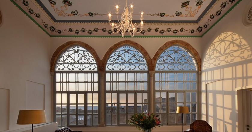 A Living Room at Efendi Hotel   © Asaf Pinchuk.