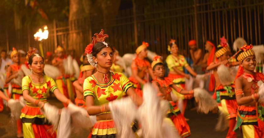 Kandy Esala Procession, Sri Lanka   © SamanWeeratunga/Shutterstock