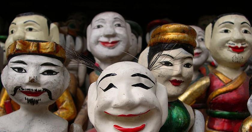 Vietnamese water puppets |© Farpost2/WikiCommons