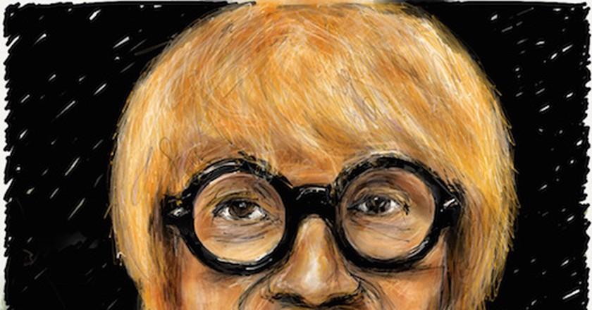 David Hockney sketch on iPad (Florent Bonnefoi) | © Florent Bonnefoi / WikiCommons
