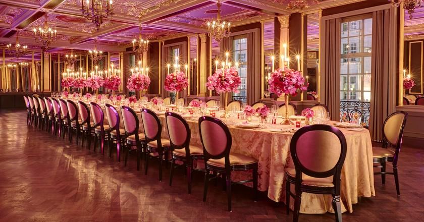 Hotel Cafe Royal - Pompadour - Dinner - Pink | Courtesy Café Royal, London