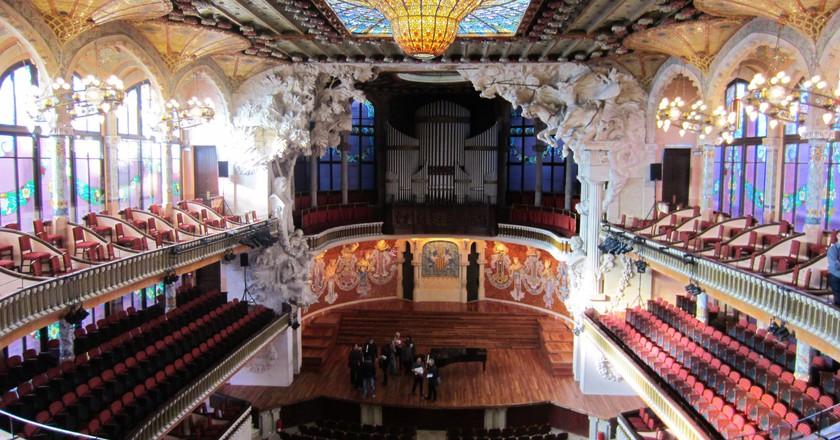 Palau de la Música Catalana   © Katherine Tolley