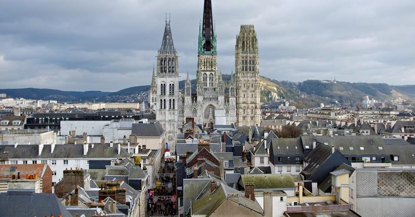 Notre Dame de Rouen Cathedral, Rouen   © WikiCommons
