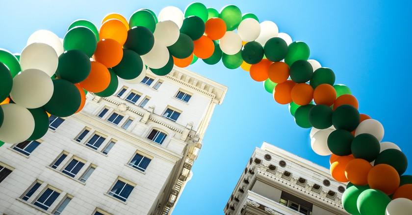 St Patrick's Day Rainbow   © Sonny Abesamis/Flickr