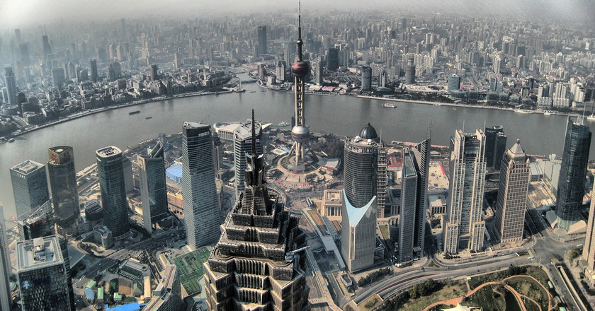 Shanghai View from SWFC