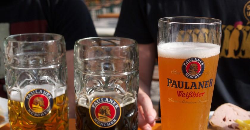 Beers at Munich | © Jun Seita/Flickr