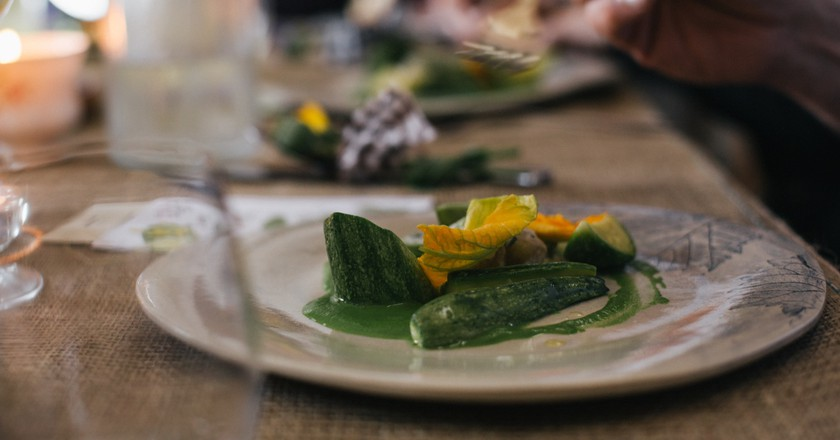 Vegetarian visitors to Bath never need go hungry again | Courtesy of Acorn Vegetarian Kitchen