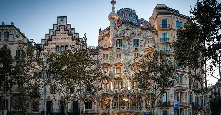 Gaudí's Casa Batlló in Barcelona   © ChristianSchd / WikiCommons