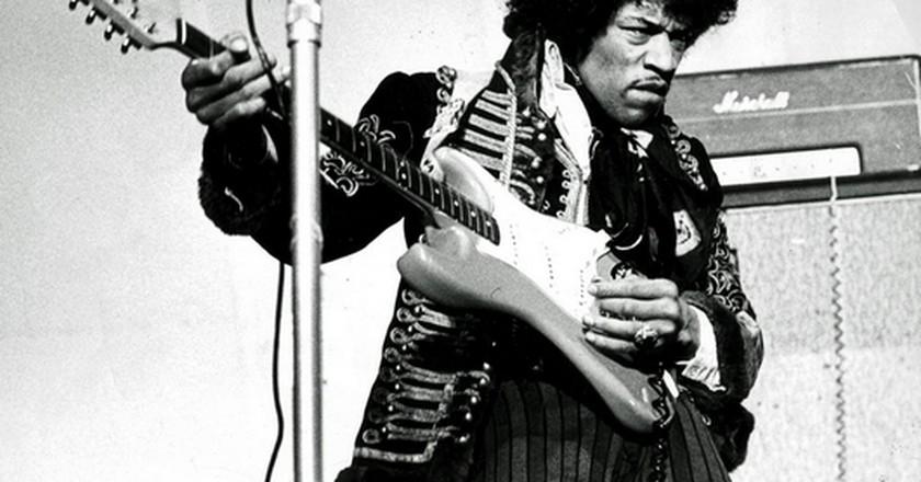 Jimi Hendrix © Scanpix Sweden