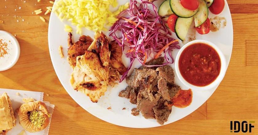 All in Platter   courtesy of I Dream Of Falafel