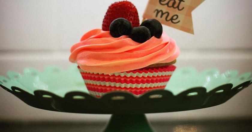 Pimm's Cupcake? Don't mind if I do! It's always Pimm's O'clock!| © Besty Weber/flickr