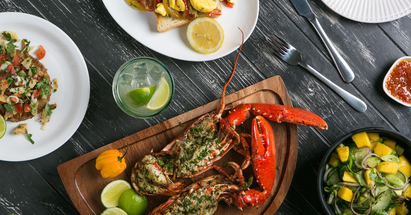 Fresh Grilled Lobster | Courtesy of Rudie's