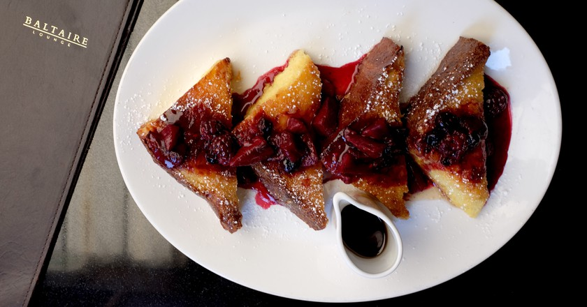 Caramelized Brioche French Toast|Courtesy of Baltaire